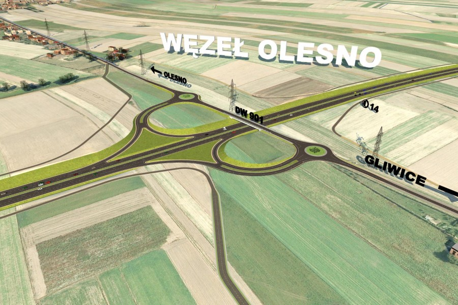 <b>Expressway S11 - Olesno Bypass</b> <br /><small>GDDKiA in Opole</small>