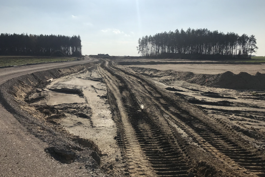 Construction of the S61 VIA BALTICA expressway